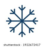 simple icon of frost cold... | Shutterstock .eps vector #1922672417