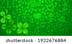 background on st. patrick's day ... | Shutterstock .eps vector #1922676884