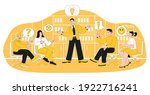 meeting business people team... | Shutterstock .eps vector #1922716241