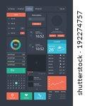 web site design element | Shutterstock .eps vector #192274757