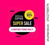 promotional sale banner...   Shutterstock .eps vector #1922758574