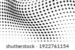 the halftone texture is... | Shutterstock .eps vector #1922761154