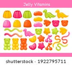 gummy chewing vitamins jelly... | Shutterstock .eps vector #1922795711