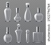 realistic perfume bottle....   Shutterstock .eps vector #1922796764