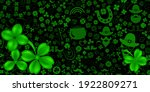background on st. patrick's day ... | Shutterstock .eps vector #1922809271