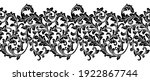 antique black and white...   Shutterstock .eps vector #1922867744