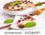 cheese casserole with currant... | Shutterstock . vector #192286997