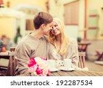 summer holidays  love  travel ... | Shutterstock . vector #192287534