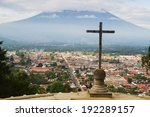 view from cerro de la cruz in... | Shutterstock . vector #192289157