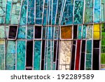 Detail Of A Colorful Window....