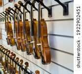 Sale Of Violins In The Store Of ...