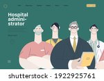 medical insurance illustration  ... | Shutterstock .eps vector #1922925761