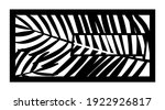 tropical palm leaf laser cut... | Shutterstock .eps vector #1922926817