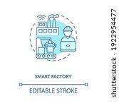 smart factory concept icon.... | Shutterstock .eps vector #1922954477