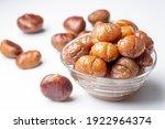 Chestnut dessert and chestnuts...