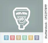 parking meter | Shutterstock .eps vector #192297899