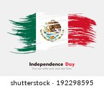 flag of mexico | Shutterstock .eps vector #192298595