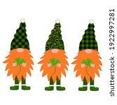St. Patrick's Day Gnomes. Cute...