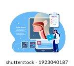 ent doctor scientist examine...   Shutterstock .eps vector #1923040187
