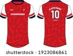 sports jersey t shirt design... | Shutterstock .eps vector #1923086861
