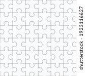 jigsaw puzzle seamless pattern. ... | Shutterstock .eps vector #1923116627