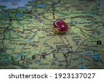 Kutahya Pinned On A Map With...