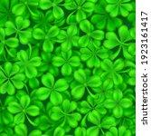 seamless pattern on st. patrick'... | Shutterstock .eps vector #1923161417