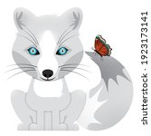 Generic Arctic White Fox With A ...