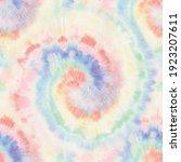 vector tie dye swirl. seamless... | Shutterstock .eps vector #1923207611