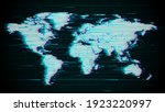 vector. abstract map of the... | Shutterstock .eps vector #1923220997