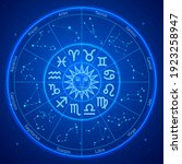 astrology zodiac star signs... | Shutterstock .eps vector #1923258947
