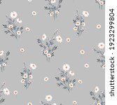 seamless spring floral pattern... | Shutterstock .eps vector #1923299804