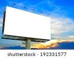 blank billboard for... | Shutterstock . vector #192331577