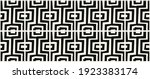 seamless geometric vintage...   Shutterstock .eps vector #1923383174