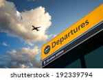 airport departure   arrival... | Shutterstock . vector #192339794
