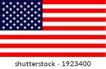 united states flag | Shutterstock .eps vector #1923400