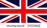 uk flag | Shutterstock .eps vector #1923403