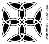 carolingian cross composed of... | Shutterstock .eps vector #192342539