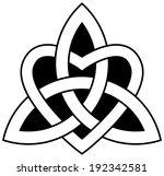 3 point celtic trinity knot ...   Shutterstock .eps vector #192342581