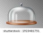 glass cake stand dome cover ... | Shutterstock .eps vector #1923481751