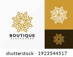 boutique flower creative logo... | Shutterstock .eps vector #1923544517