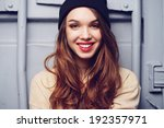 portrait of a beautiful... | Shutterstock . vector #192357971