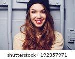 portrait of a beautiful... | Shutterstock . vector #192357971