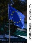 European Flag Hoisted At A...