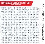 database and internet vector...   Shutterstock .eps vector #1923622127