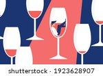 alcohol addiction concept...   Shutterstock .eps vector #1923628907