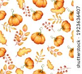 Autumn Seamless Pattern. Yellow ...