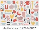 vector collage pattern ... | Shutterstock .eps vector #1923646067