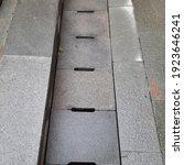Concrete Rain Gutter Cover...
