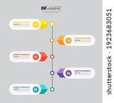 infographics diagram template ...   Shutterstock .eps vector #1923683051